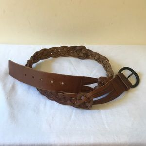 Abercrombie & Fitch Genuine Leather Belt - Size M